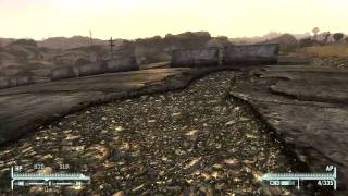Fallout: New Vegas - Location of the Camp Forlorn Hope Supplies