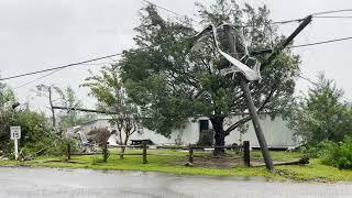 Tropical Storm Claudette Tornado Aftermath, Brewton, AL - 6/19/2021