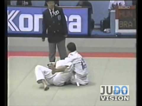 JUDO 1995 World Championships: Flavio De Vlhoa (BRA) - Istvan Gulyas (HUN)