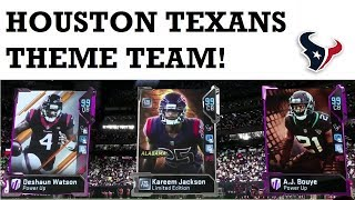 EVERYONE BACKS DOWN FROM TEXANS! HOUSTON TEXANS THEME TEAM GAMEPLAY - MADDEN 19 ULTIMATE TEAM