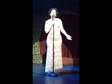 Kimberly Greenberg singing Where's That Rainbow in Ziegfeld's Midnight Frolics