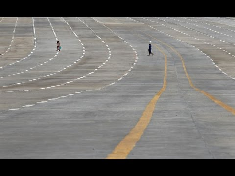 RIDING ON LARGEST AND EMPTIEST HIGHWAY IN THE WORLD