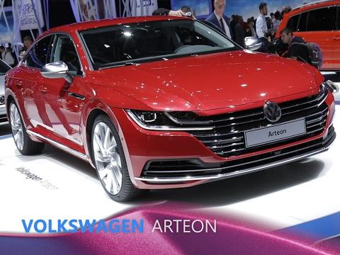 Volkswagen Arteon en direct du salon de Genève 2017