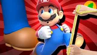 how tall is mario really?