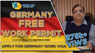 Germany free work permit visa
