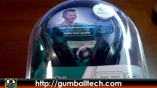 Logitech ClearChat Pro USB Headset Unboxing