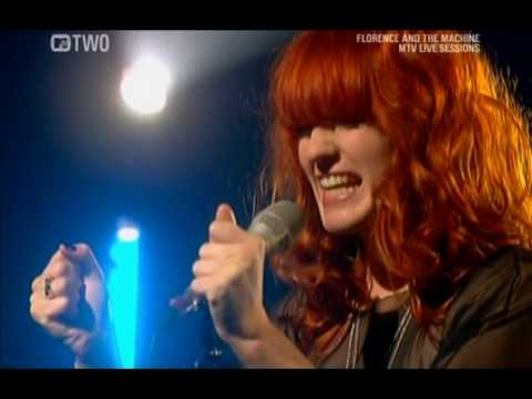 Florence And The Machine - Dog Days (MTV Live Sessions 2009).avi