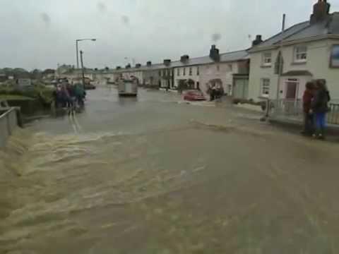 BUDE FLOODS Northcornwall  PRT ONE
