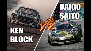 KEN BLOCK Vs DAIGO SAITO | EPIC DRIFT BATTLE | Gymkhana GRiD 2018