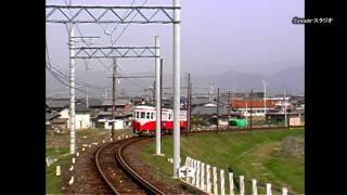 【残しておいてよかった鉄道風景】モ510形揖斐・市内線を行く