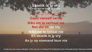 Skielik is jy vry - ProTrax Karaoke Demo