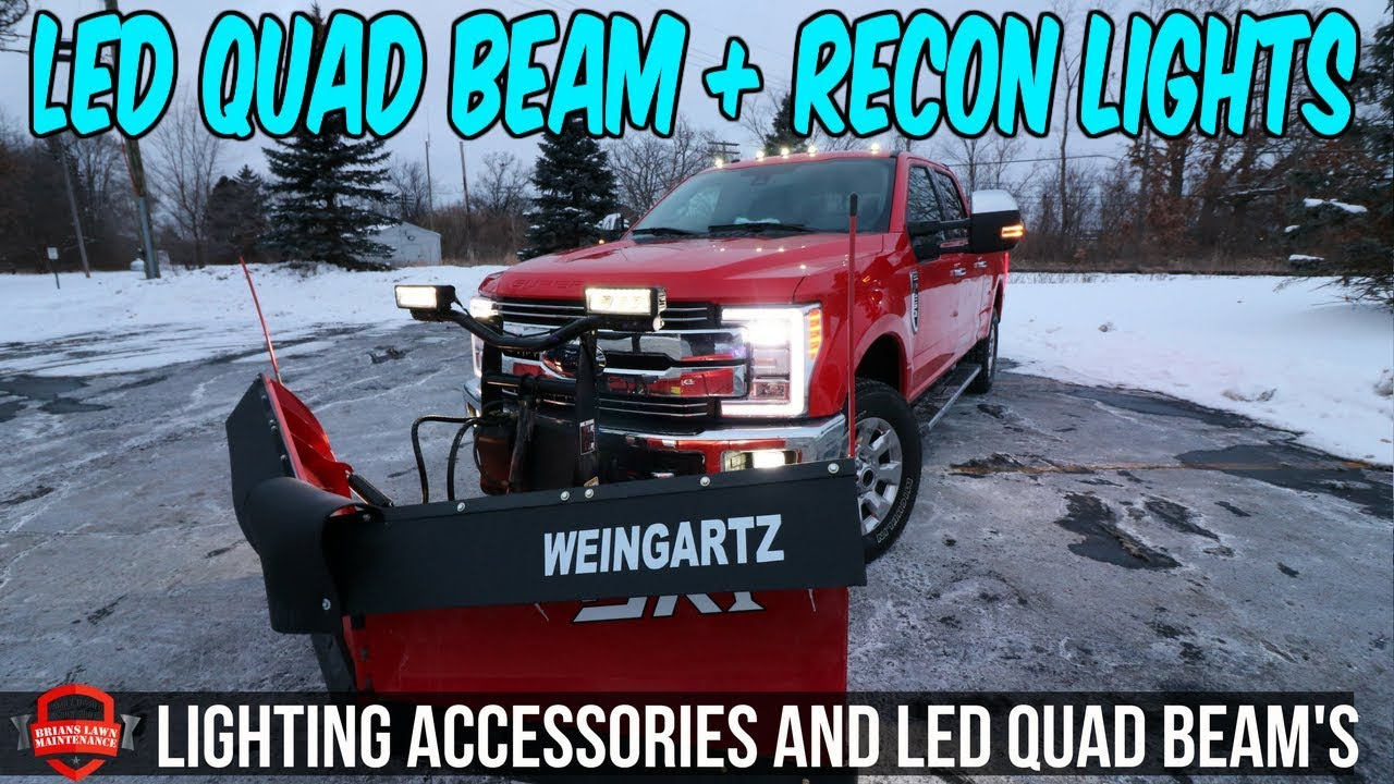 Led Quad Beams Recon Cab Lights