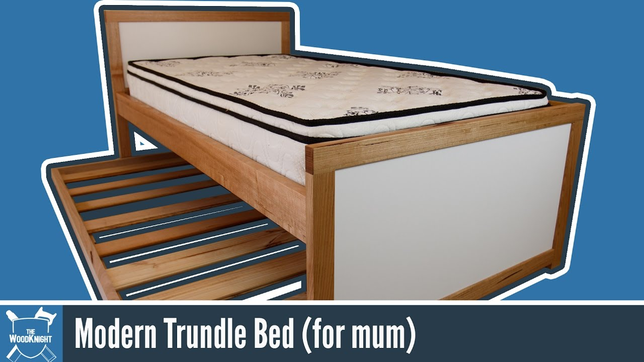 modern trundle bed (for mum)