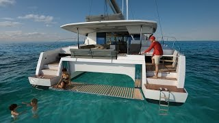 Fountaine Pajot New 47 video