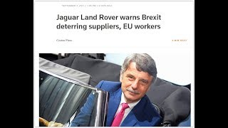 Brexit fallout: no transition deal will be a disaster says Jaguar Land Rover boss