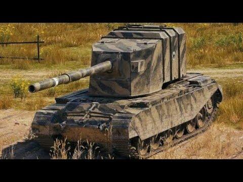 World of Tanks FV4005 Stage II - 2 Kills 13,9K Damage - Marty je král