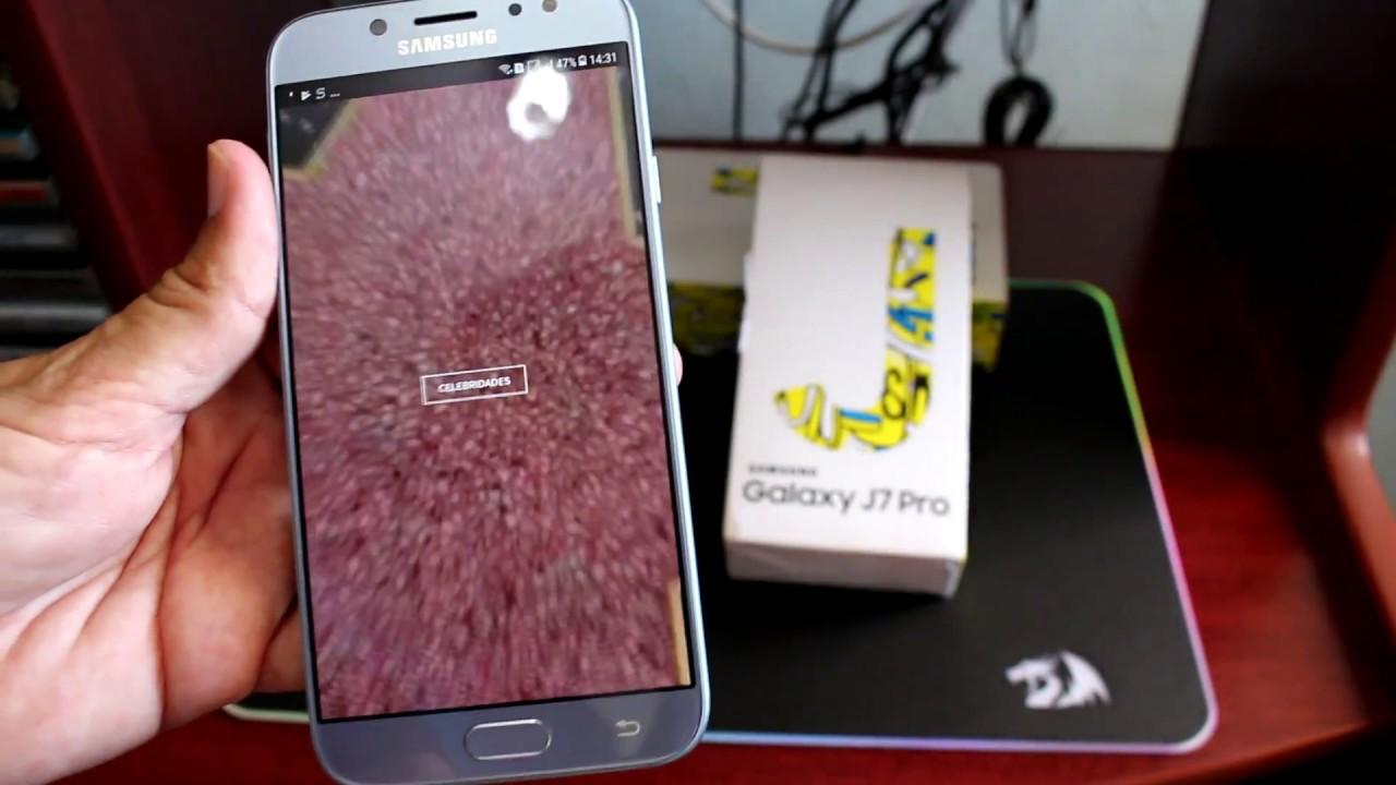 Unboxing 2 Smartphone Samsung Galaxy J7 Pro Azul