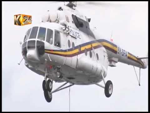 Fuselage retrieved from Lake Nakuru, ferried to Nairobi