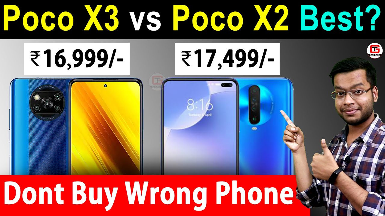 Poco X3 vs Poco X2 - Best Smartphone under 20000? Poco X2 vs Poco X3 Camera, Battery, Game