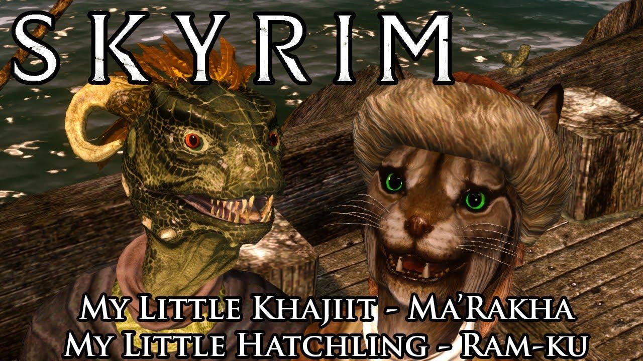 Skyrim Mods: Khajiit and Argonian Adoptable Children