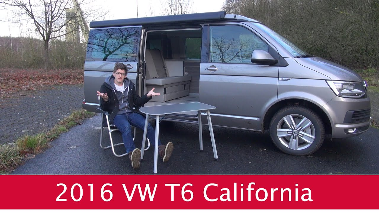 fahrbericht vw t6 california 2 0 tdi im test youtube. Black Bedroom Furniture Sets. Home Design Ideas