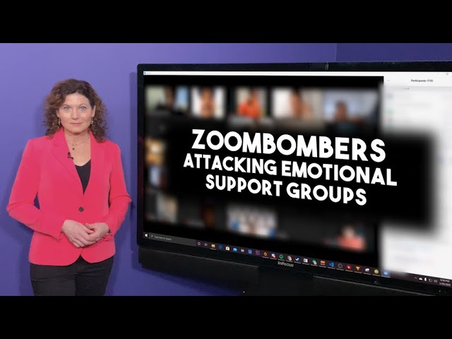 Zoombombers are attacking emotional support groups