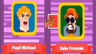 Bowmaster HACK Update: New Characters Unlocked Pumpil Michael vs Gabe Freman - Android GamePlay HD
