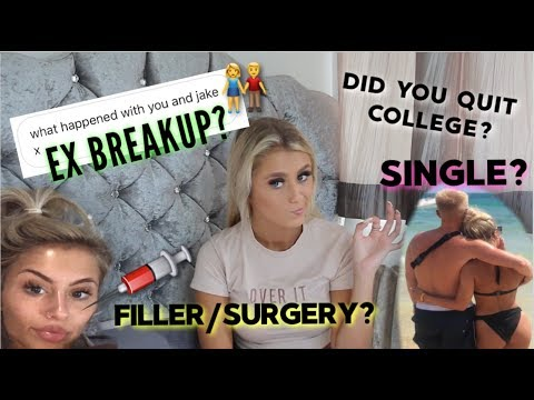 ANSWERING YOUR QUESTIONS I'VE BEEN AVOIDING | Breakup, Filler, Relationship, College