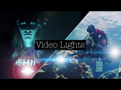 THE ULTIMATE GUIDE TO UNDERWATER VIDEO LIGHTS