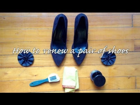 DIY Project: How to renew a pair of shoes - Do it yourself!