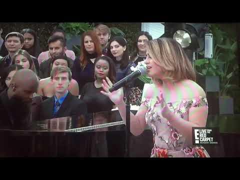 Ally Brooke singing 'Beauty and the Beast' Oscars 2018