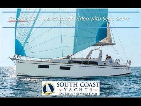Beneteau Oceanis 38 1 Video Walkthrough with Sean Smith