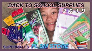 BACK TO SCHOOL HAUL 2019 (ft. SM)| Philippines