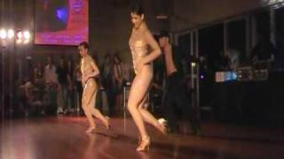 Latin Dance Australia performance at Doudoule Camp