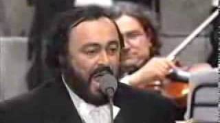 luciano pavarotti the chieftains funiculi funicula live flv