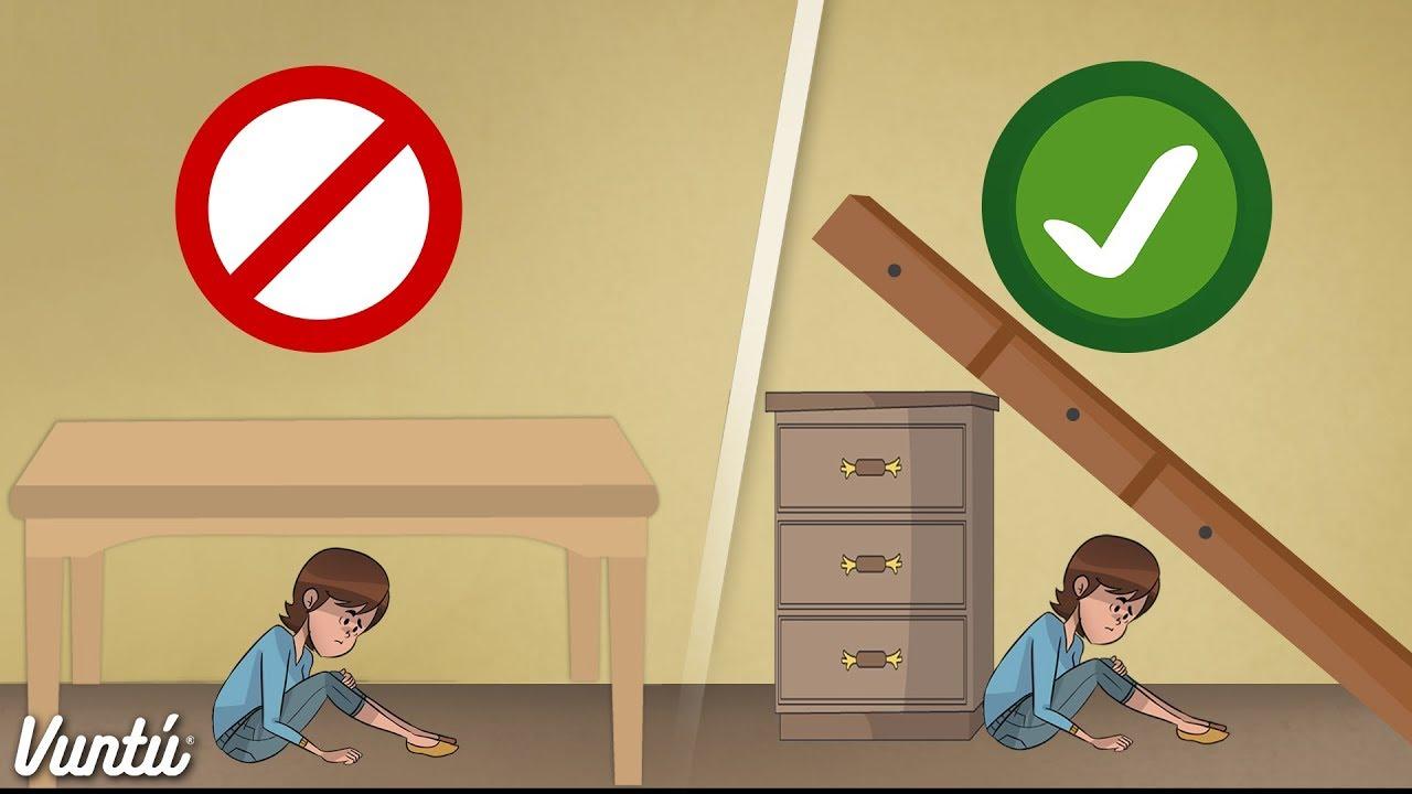 Consejos para sobrevivir en un terremoto comp rtelo con - Trabajar en casa montando cosas ...