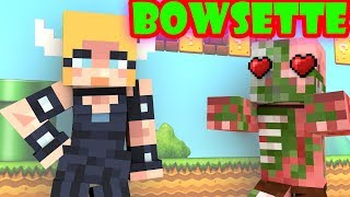 Monster School : BOWSETTE CHALLENGE - Minecraft Animation