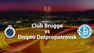Video Gol Pertandingan Club Brugge vs Dnipro Dnipropetrovsk