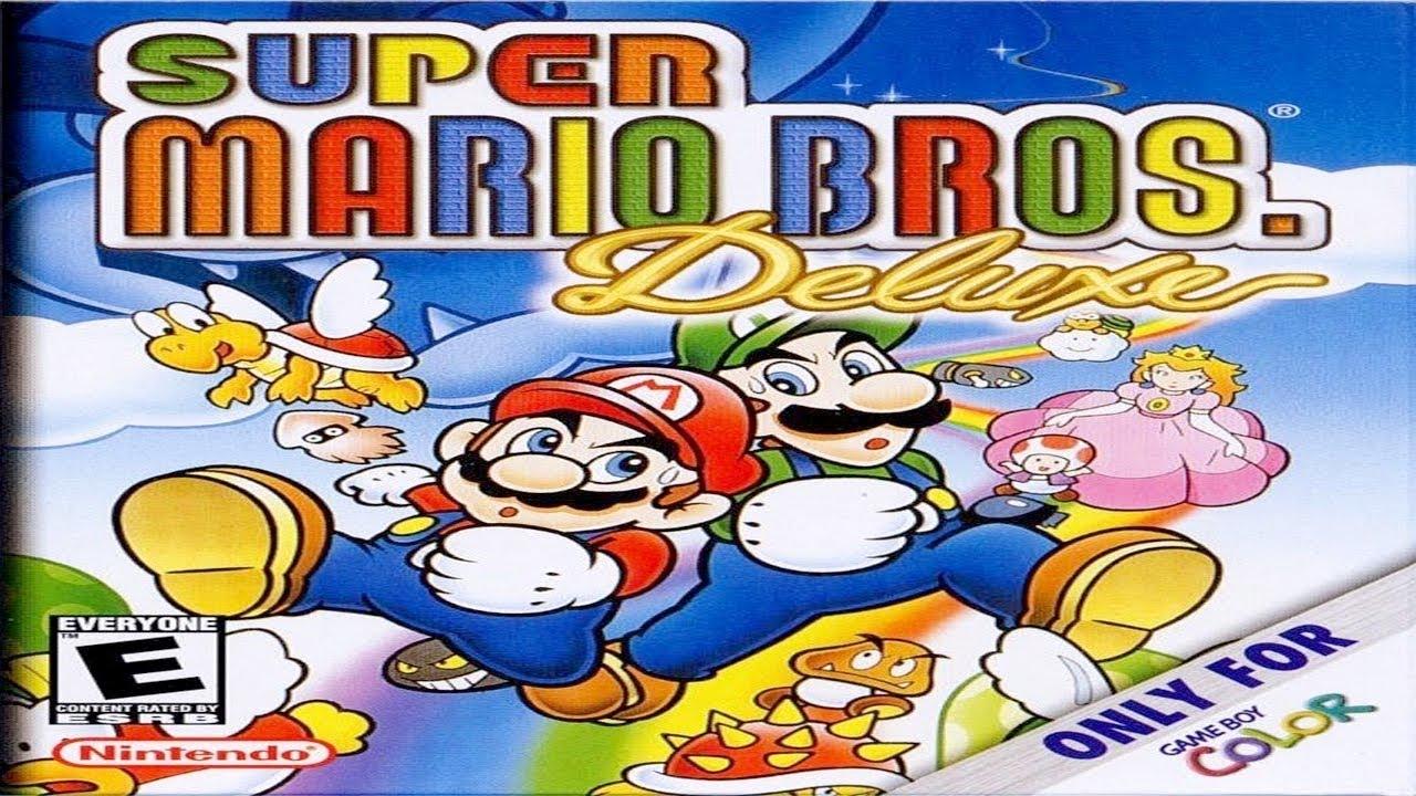 Game boy color super mario bros deluxe - Test De Super Mario Bros Deluxe Review 30 Game Boy Color