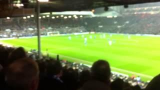 Chelsea fans Leeds away