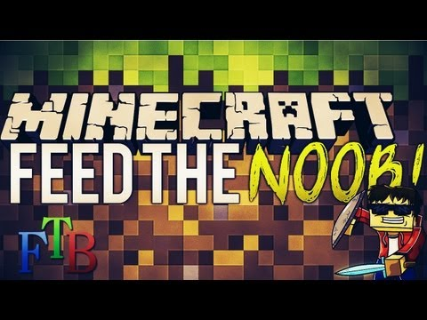 Norsk Minecraft - Feed the Noob m/ venner! | Feed the beast episode #25  End of days!