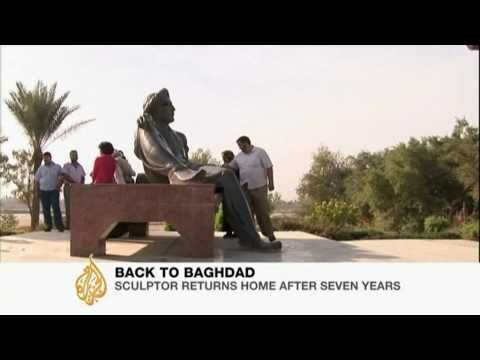 Baghdad sculptor realises dream of returning home