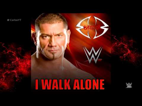 WWE: I Walk Alone (WWE Edit) [Batista] ► Theme Song + Custom Cover
