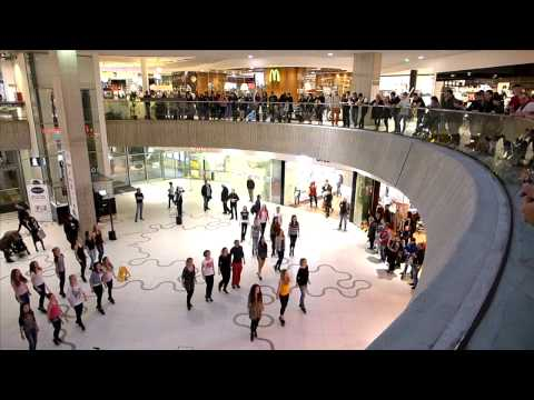 Irish Flash Mob Vienna 2014 - Wien Mitte The Mall
