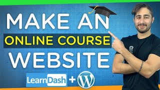 How to Create an Online Course Website with WordPress   Step-By-Step Tutorial 2021