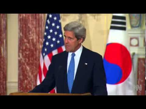 Kerry  U S  won't accept a nuclear state
