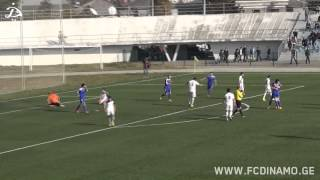 FC Shuqura 1:1 FC Dinamo Tbilisi [HIGHLIGHTS]