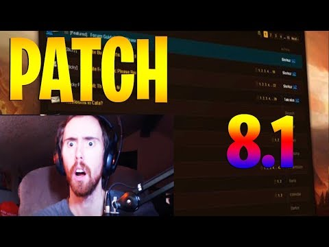 Asmongold Rages Over Arms Warrior Nerf In Patch 8.1 World of Warcraft