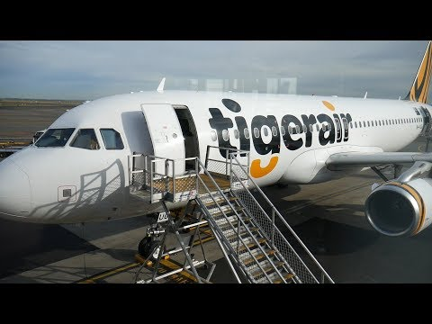 TigerAir Flight TT641 Sydney To Adelaide Airbus A320