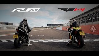 Aprilia RSV4 RF v Yamaha YZF-R1M: Part One | Track Test